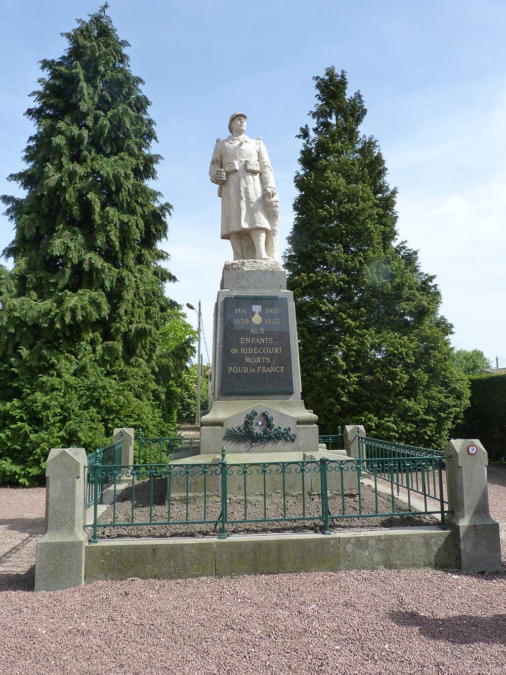 Le Monument aux Morts de Ribécourt